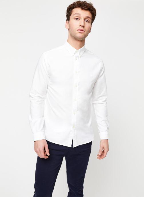 Vêtements Cuisse de Grenouille Shirt – Button Down + Maison Blanc vue droite