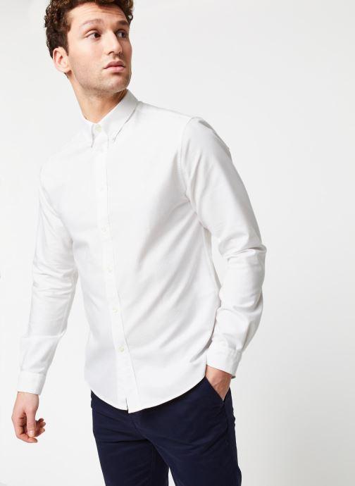 Vêtements Cuisse de Grenouille Shirt – Button Down + Maison Blanc vue détail/paire