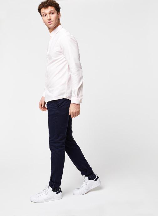 Vêtements Cuisse de Grenouille Shirt – Button Down + Maison Rose vue bas / vue portée sac