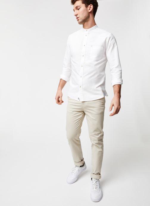 Vêtements Cuisse de Grenouille Shirt – Mao Blanc vue bas / vue portée sac