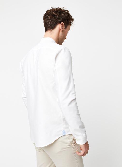 Vêtements Cuisse de Grenouille Shirt – Mao Blanc vue portées chaussures