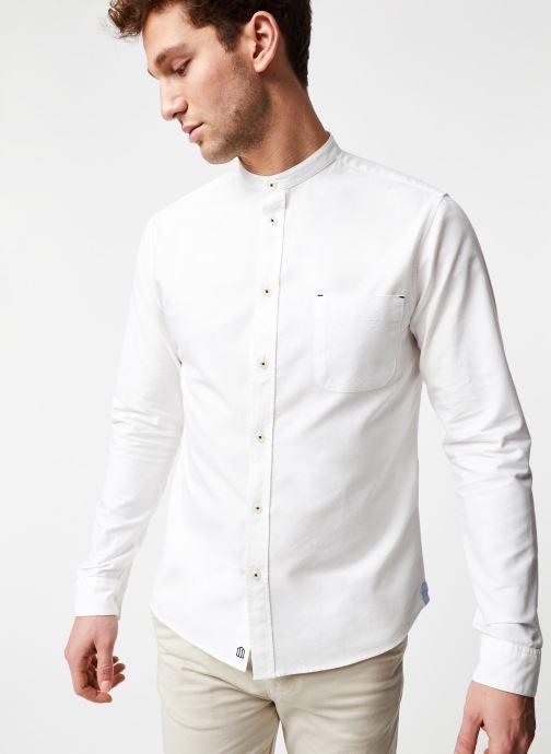 Vêtements Cuisse de Grenouille Shirt – Mao Blanc vue détail/paire