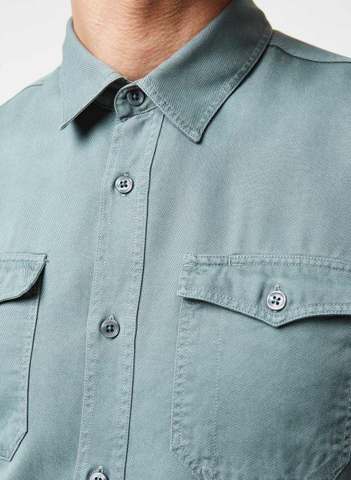 Vêtements Cuisse de Grenouille Shirt – Tencel Denim Vert vue face