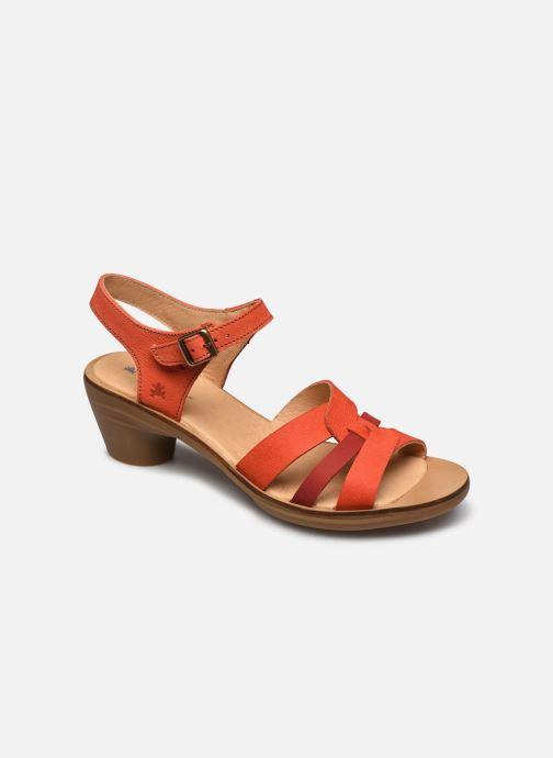Sandales et nu-pieds El Naturalista Aqua N5364 Orange vue détail/paire