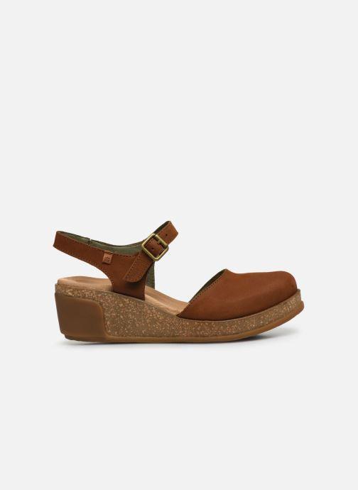 Sandales et nu-pieds El Naturalista Leaves 5001 Marron vue derrière