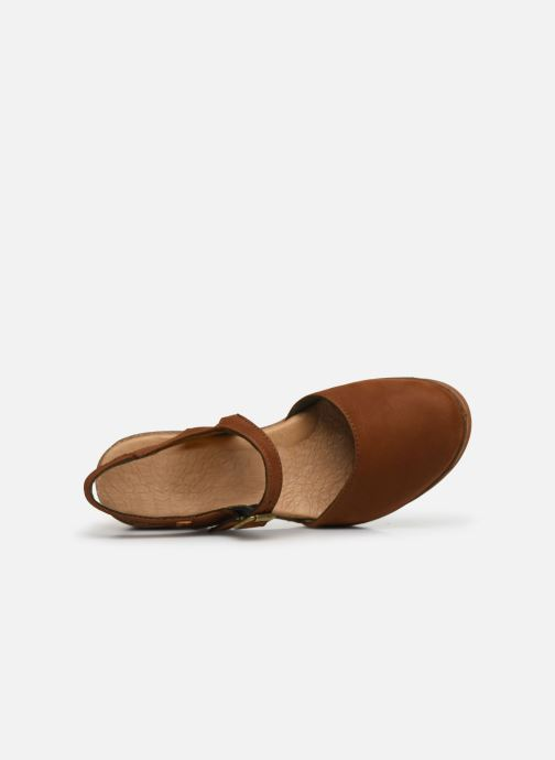 Sandali e scarpe aperte El Naturalista Leaves 5001 Marrone immagine sinistra