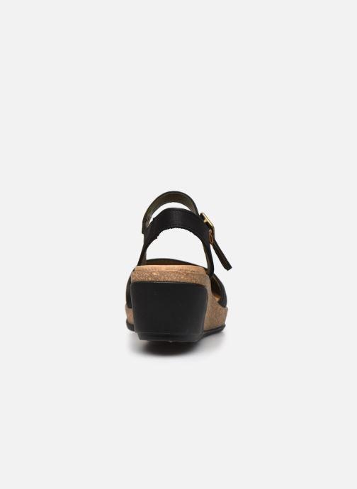 Sandales et nu-pieds El Naturalista Leaves 5001 Noir vue droite