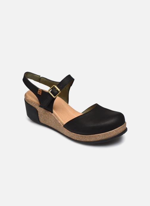 Sandales et nu-pieds El Naturalista Leaves 5001 Noir vue détail/paire