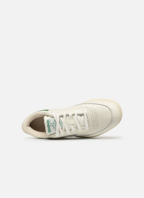 Trainers Reebok Club C Double White view from the left