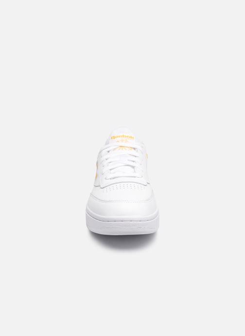 Baskets Reebok Club C Double Blanc vue portées chaussures