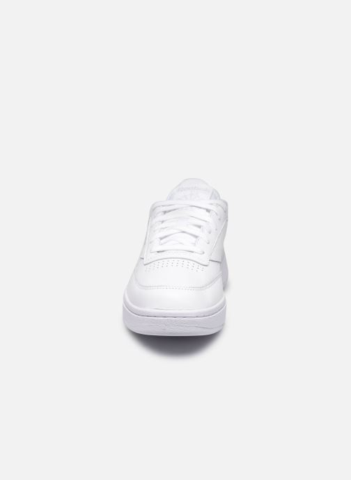 Sneaker Reebok Club C Double weiß schuhe getragen