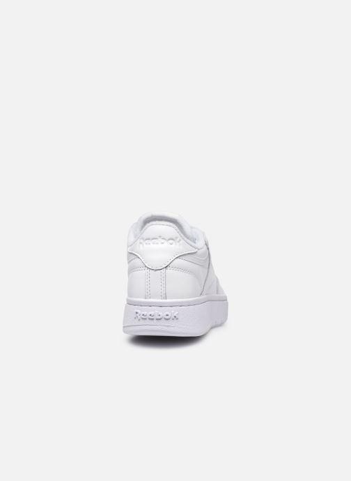 Sneaker Reebok Club C Double weiß ansicht von rechts