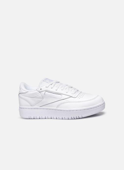 Sneaker Reebok Club C Double weiß ansicht von hinten