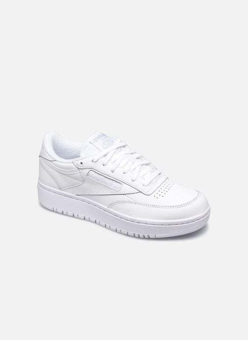 Sneaker Reebok Club C Double weiß detaillierte ansicht/modell