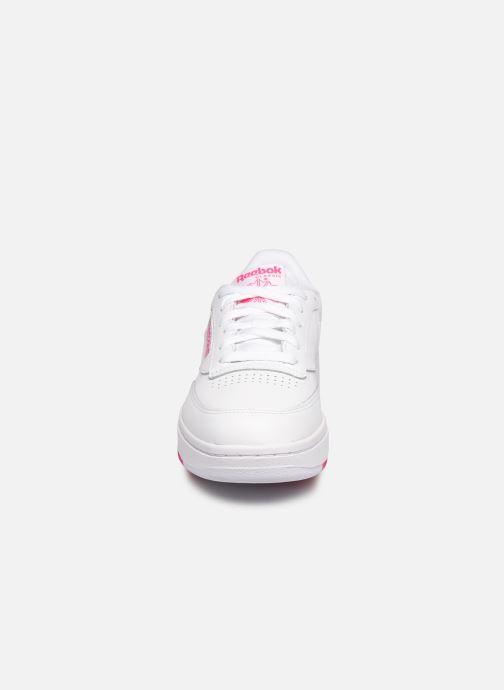 Sneakers Reebok Club C Double Bianco modello indossato