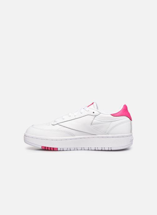Sneakers Reebok Club C Double Bianco immagine frontale