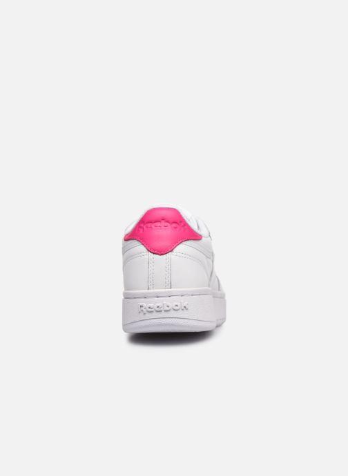 Sneakers Reebok Club C Double Wit rechts