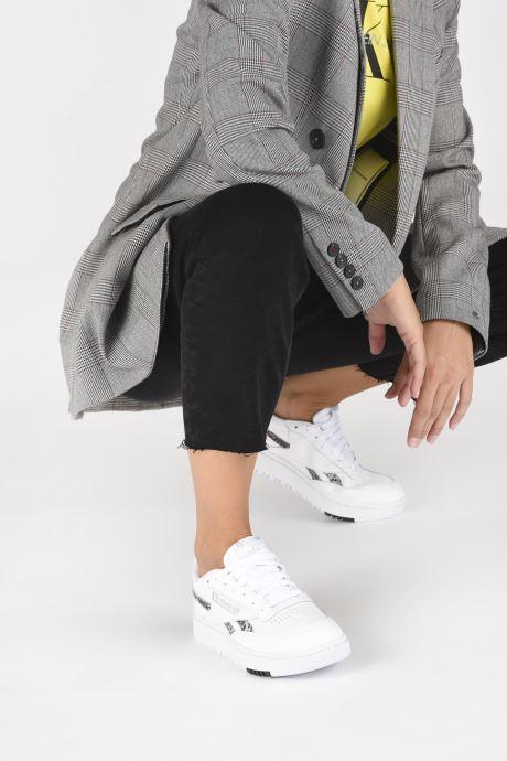 Sneakers Reebok Club C Double Wit onder