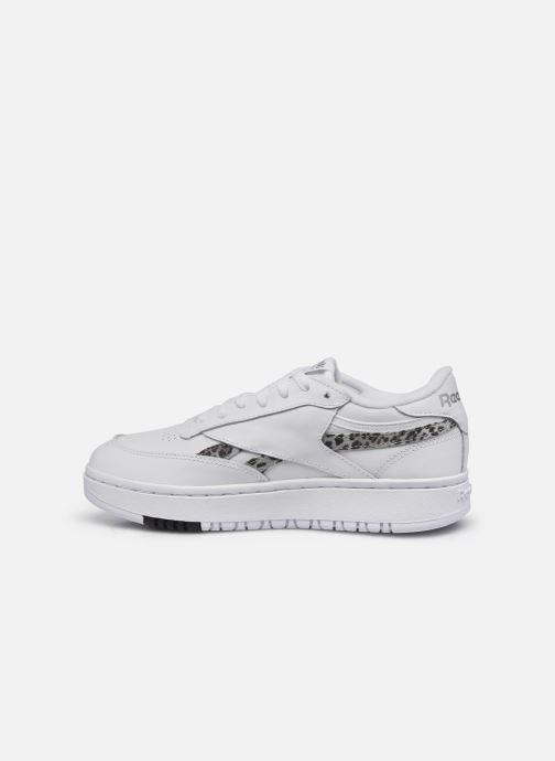 Sneakers Reebok Club C Double Wit voorkant