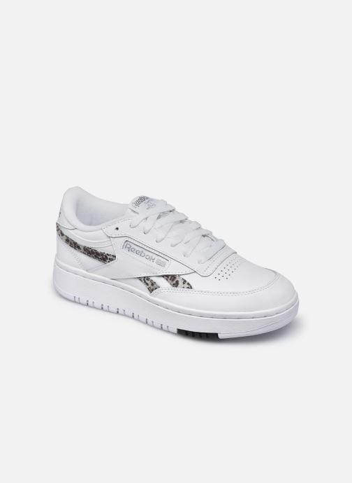 Sneakers Reebok Club C Double Wit detail