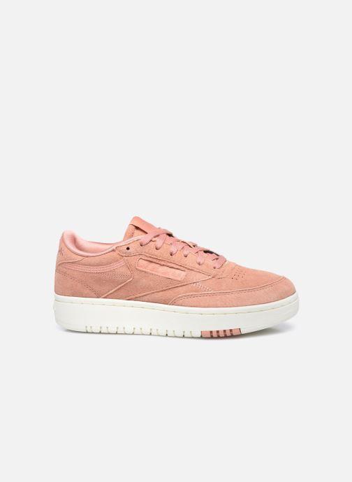 Sneaker Reebok Club C Double rosa ansicht von hinten