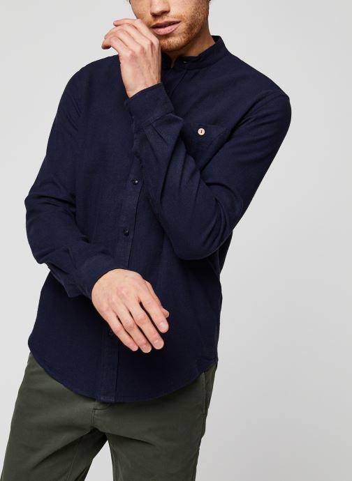 Vêtements Faguo ONCAO CHEMISE Bleu vue droite