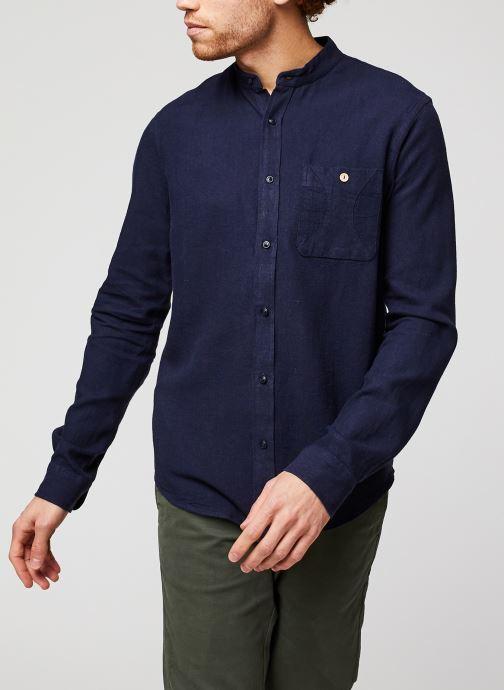 Vêtements Faguo ONCAO CHEMISE Bleu vue détail/paire
