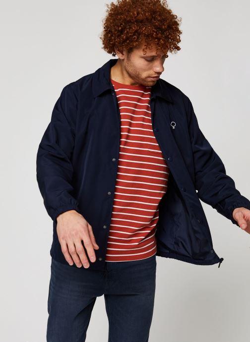 Vêtements Faguo SOLOGNE JACKET Bleu vue détail/paire