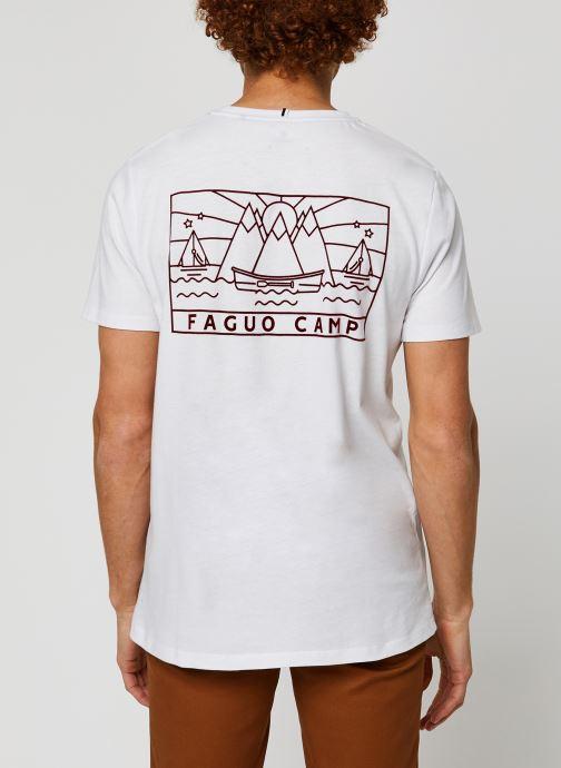 Kleding Faguo ARCY T-SHIRT Wit model