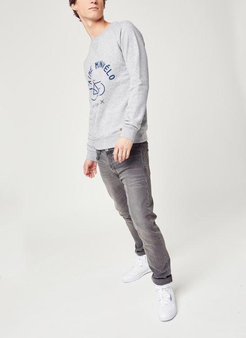 Vêtements Faguo DARNEY SWEAT Gris vue bas / vue portée sac