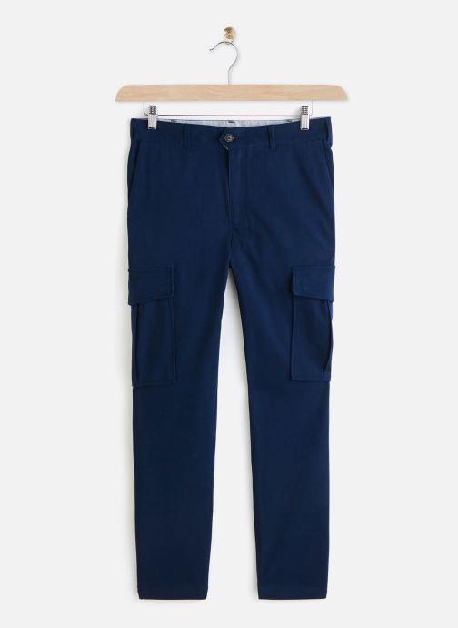 Kleding Faguo MILLY PANT Blauw detail