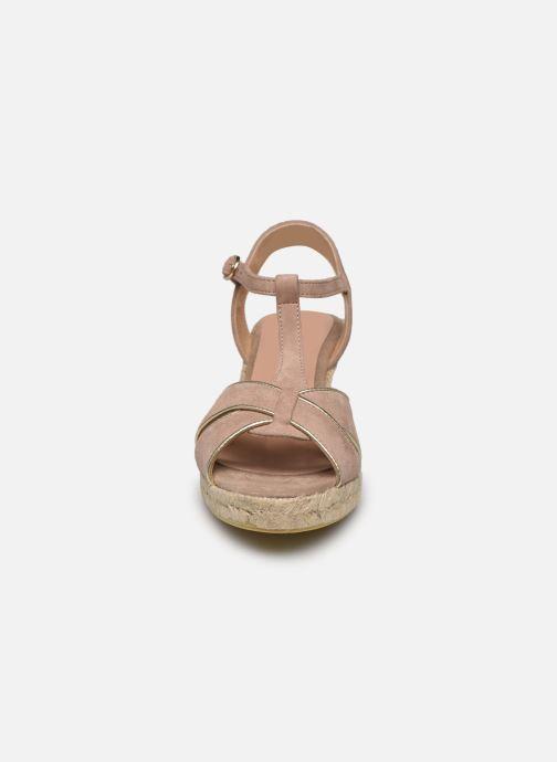 Espadrilles Georgia Rose Dominia Beige vue portées chaussures