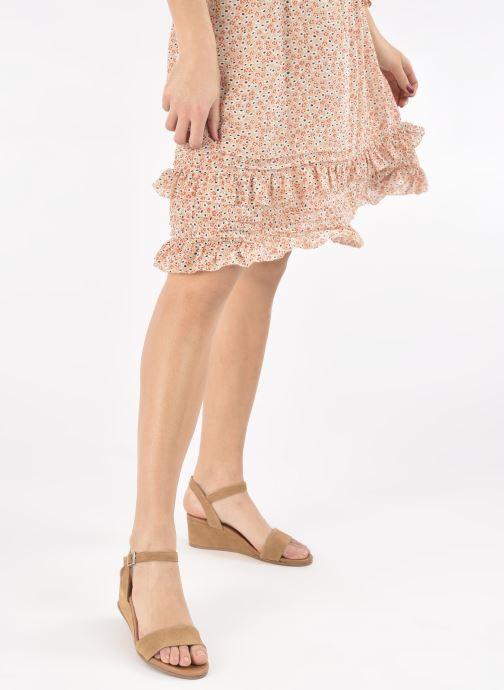 Sandalen Georgia Rose Soft Ablican braun ansicht von unten / tasche getragen