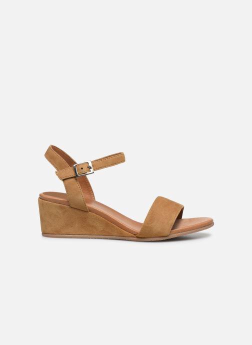 Sandales et nu-pieds Georgia Rose Soft Ablican Marron vue derrière