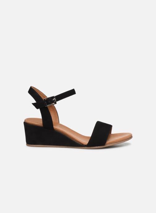 Sandales et nu-pieds Georgia Rose Soft Ablican Noir vue derrière
