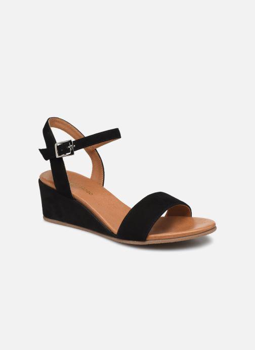 Sandales et nu-pieds Georgia Rose Soft Ablican Noir vue détail/paire