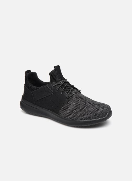 Sneakers Skechers DELSON CAMBEN Sort detaljeret billede af skoene