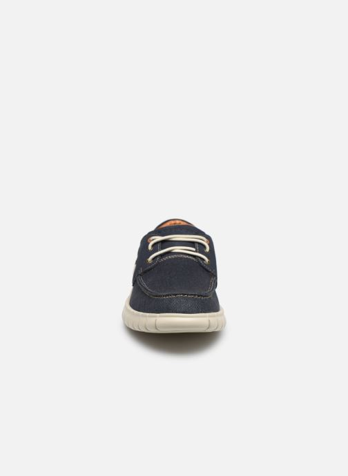 Baskets Skechers Moreway Barco Bleu vue portées chaussures