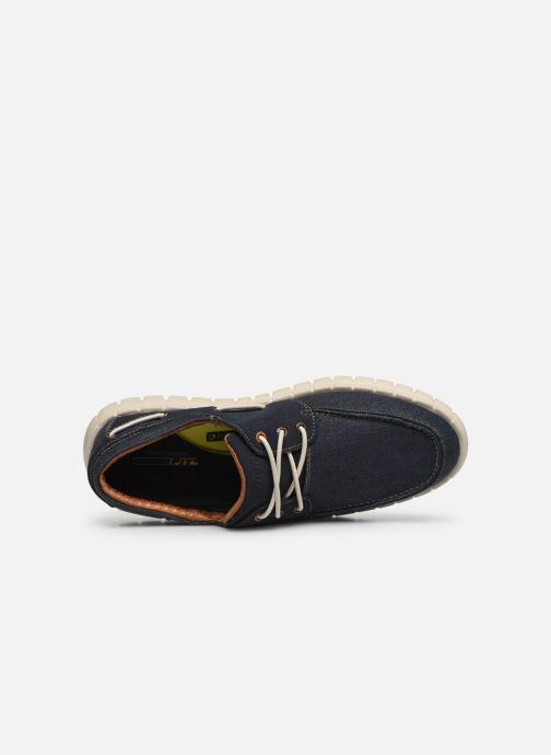 Baskets Skechers Moreway Barco Bleu vue gauche