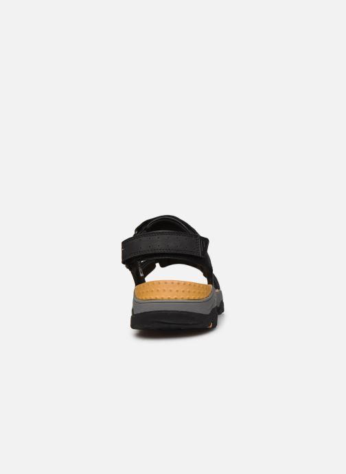 Sandali e scarpe aperte Skechers Treshmen Hirano Nero immagine destra