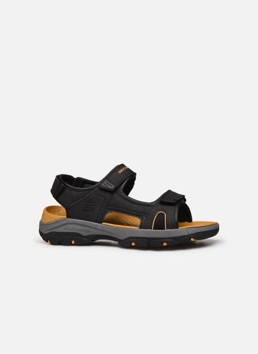 Sandali e scarpe aperte Skechers Treshmen Hirano Nero immagine posteriore