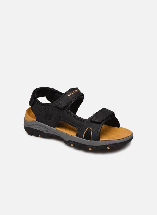Sandalias Skechers Treshmen Hirano Negro vista de detalle / par
