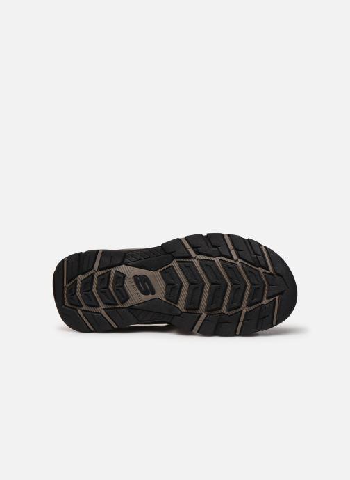 Sandali e scarpe aperte Skechers Treshmen Hirano Marrone immagine dall'alto