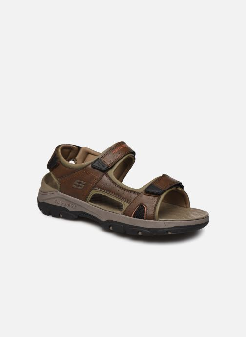 Sandali e scarpe aperte Skechers Treshmen Hirano Marrone vedi dettaglio/paio
