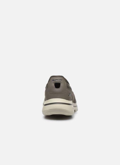 Sneakers Skechers GO WALK 5 H Bruin rechts