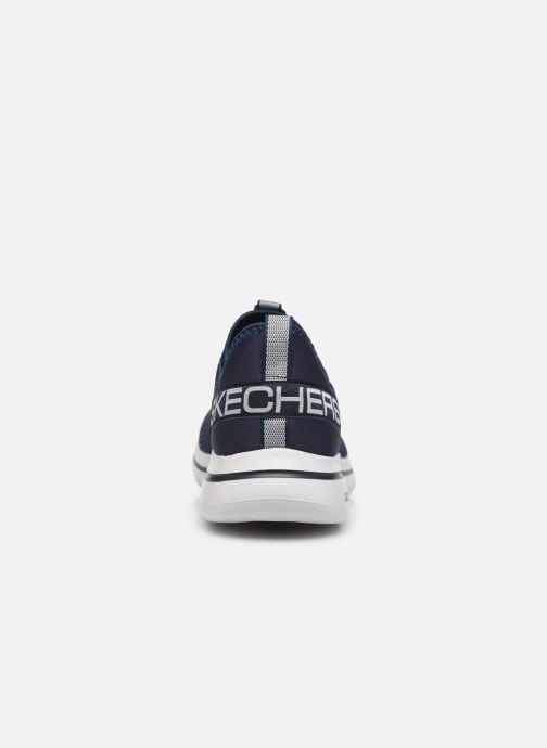 Sneaker Skechers GO WALK 5 H blau ansicht von rechts