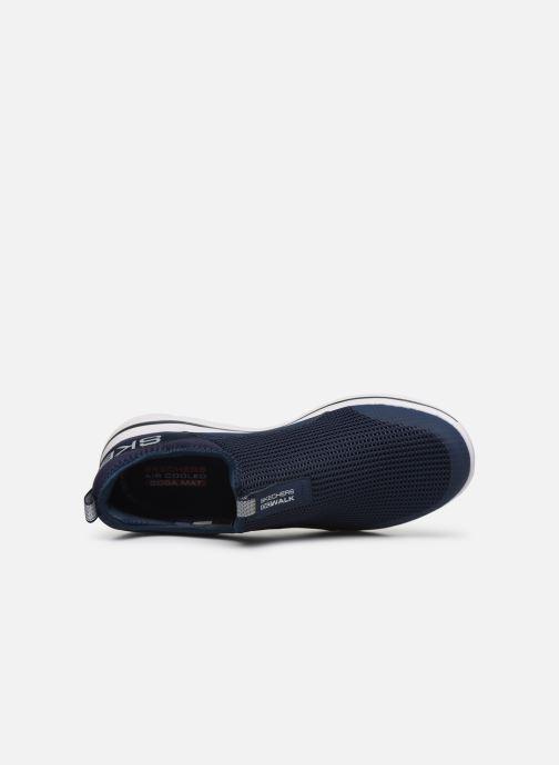 Sneaker Skechers GO WALK 5 H blau ansicht von links
