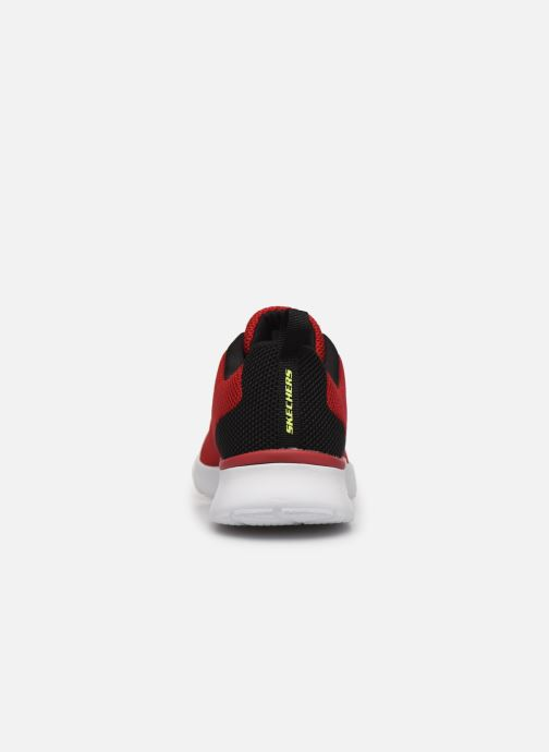 Baskets Skechers SKECH-AIR DYNAMIGHT Rouge vue droite