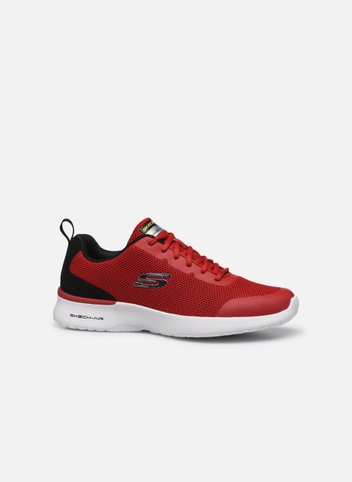 Baskets Skechers SKECH-AIR DYNAMIGHT Rouge vue derrière