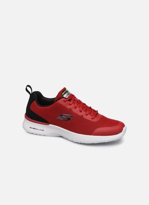 Baskets Skechers SKECH-AIR DYNAMIGHT Rouge vue détail/paire